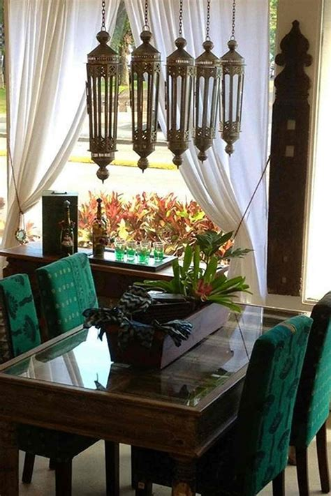 green dining room ideas fabulous moroccan dining room design with wood and glass