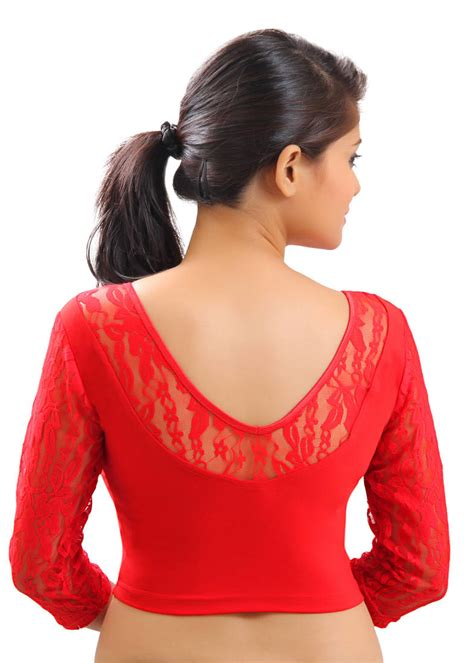 stretchable blouse buy lace crochet stretchable blouse and crop top