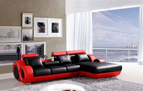 red and black sofa set black and red leather sofa set red and black leather sofa