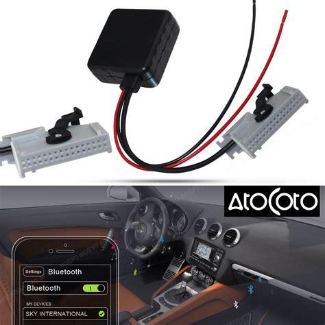 rns e bluetooth atocoto car bluetooth module for audi rns e navigation a8 tt r8 a3 a4 radio stereo 32 pin aux