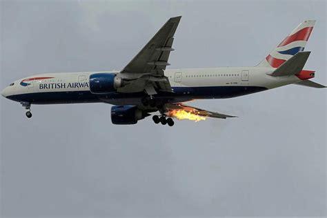 plane catches fire  mans journey  london  athens