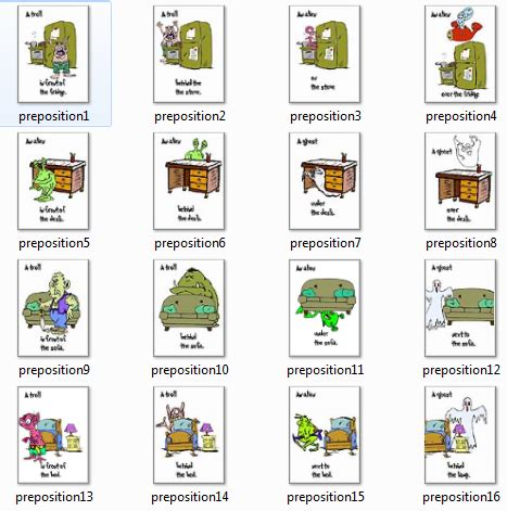 Prepositions Flashcards  Prepositions  Pinterest  Prepositions, Literacy And Math