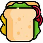 Sandwich Icon Icons Vector Flaticon Svg Pack