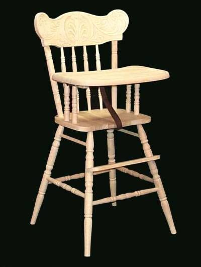 this is my high chair for when i had vintage