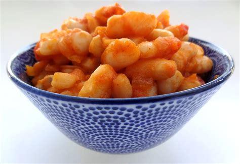 cuisiner les haricots blancs secs haricots blancs sauce tomate la tendresse en cuisine