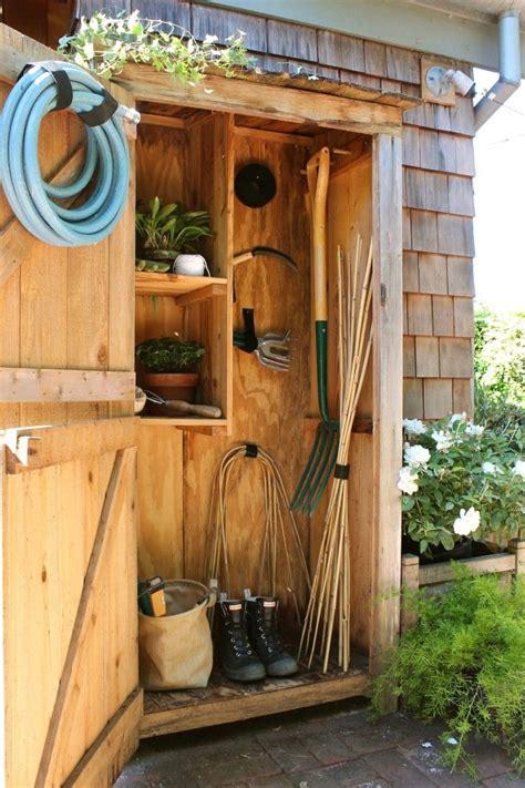 Backyard Storage Ideas by 25 Best Ideas About Outside Storage Shed On