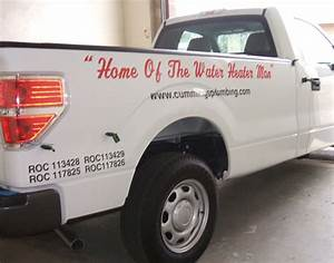 cummings plumbing f 150 wrap innovative signs of tucson With vinyl lettering tucson