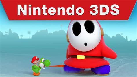 Nintendo 3ds  Play Nintendo Yoshi's New Island Commercial