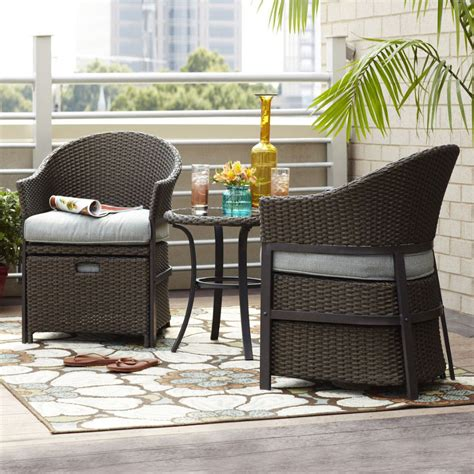 Patio Conversation Sets Canada by Garden Treasures South Point 5 Outdoor Conversation