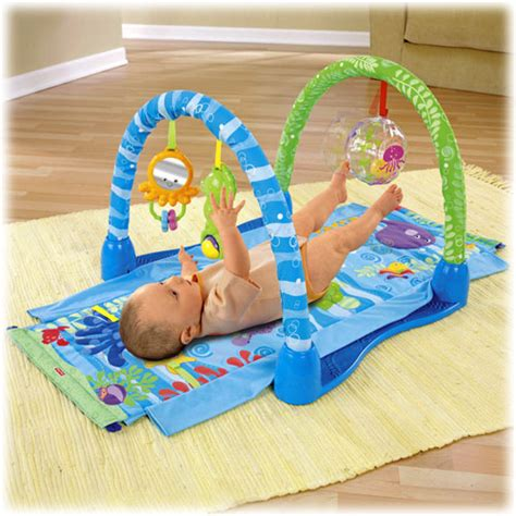 fisher price activity mat object moved