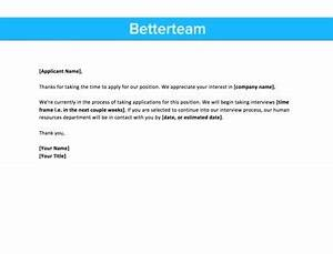 sample thank you letter after receiving job offer thank you for applying email 2 downloadable samples