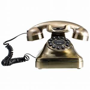 Telefon Schnurlos Retro : retro festnetztelefon nostalgie analog telefon mit w hlscheibe in schwarz gold ebay ~ Buech-reservation.com Haus und Dekorationen