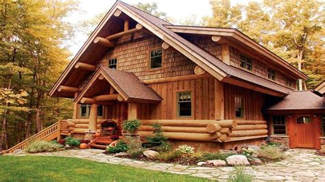 Log Cottage Log Cabin Homes Design Ideas Habitable Wooden Houses