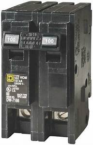 New Square D Hom2100cp Homeline 100 Amp Double Pole