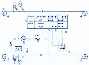 Suzuki Sammi 1 3 1990 Electrical Circuit Wiring Diagram