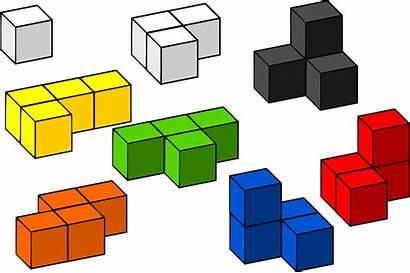 Blocks Building Tetris 3d Vector Graphic Cubes