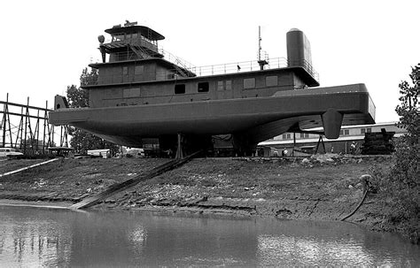 Tow Boat History by Mississippi River Towboat Launch Cape Girardeau History