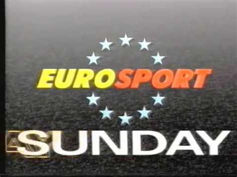 Pogledajte kompletan tv program / raspored za danas s opisima filmova, serija i emisija za kanal eurosport 2 1989 - ESPN Europe - Eurosport Program Lineup - YouTube
