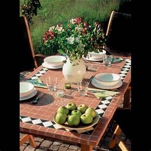 Table Ronde Ou Rectangulaire : table mosa que table fer forg votre table mosa que ronde ou rectangulaire en c ramique ~ Melissatoandfro.com Idées de Décoration
