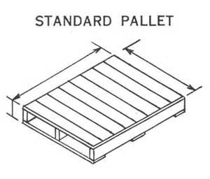 pallet size standard images