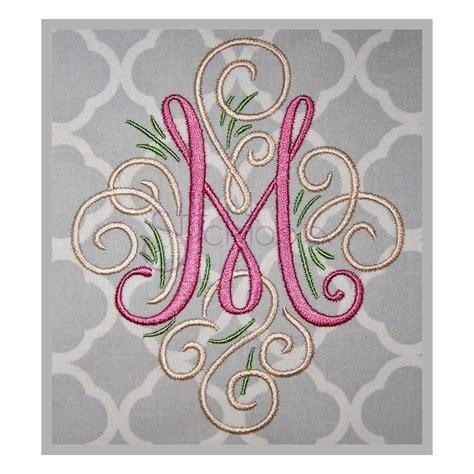 digital monogram font adorn solo monogram embroidery font stitchtopia