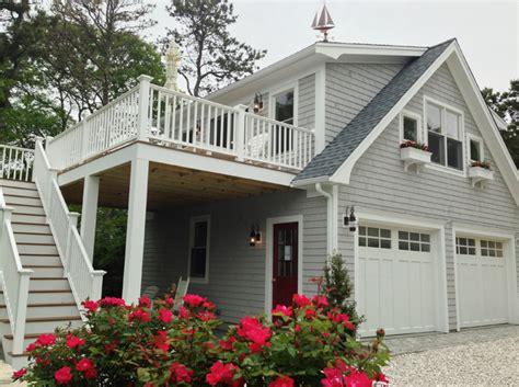 Detached Garage With Loft And Deck  Capewide Enterprises