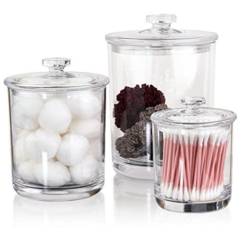 clear plastic kitchen canisters plastic jars for buffet