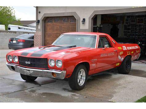 1970 el camino 1970 chevrolet el camino ss for sale classiccars