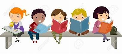 Corner Mrs Reading Literacy Sitting Bench Illustration