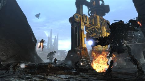 Titanfall Frontiers Edge Check Out The Scale Of The