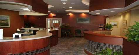 Uconn Health Center Front Desk by Dental Office Design Diversified Design Technologies