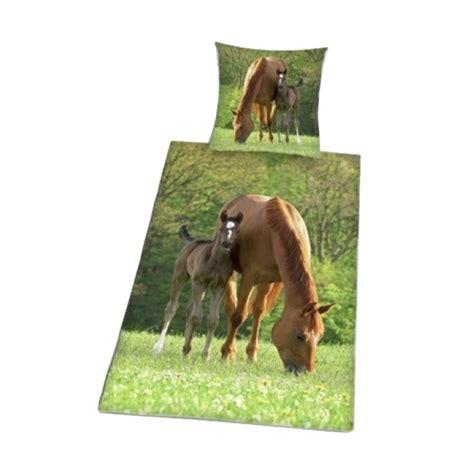 parure de lit chevaux housse de couette cheval cavacado