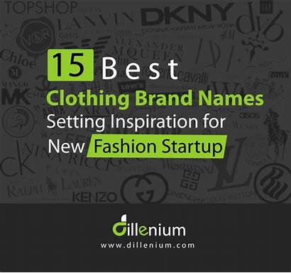 Brand Names Clothing Brands Inspiration Creative Setting