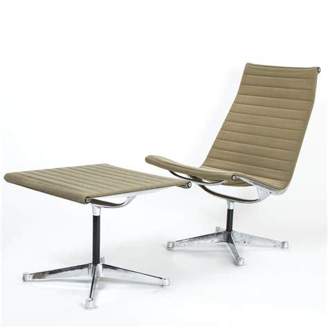 Charles Eames by Herman Miller Ea116 Ea125 Aluminium Chair Ottoman By