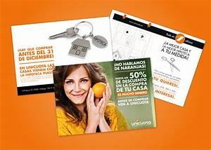 Diseño de flyers para empresa inmobiliaria de Málaga Factoryfy