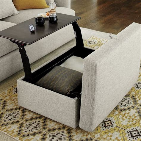 Cushion Coffee Table With Storage Furniture  Roy Home Design. 3 Way Desk Lamp. Gold Glitter Table Cloth. Wooden Folding Table. Outdoor Table Top. Flip Top Console Table. Ladder Style Computer Desk. Dressing Table Vanity. Table Saw Stand