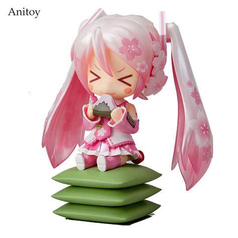 Anime Cute Nendoroid 4 Hatsune Miku 274 Sakura Miku Pvc
