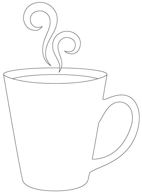 coffee mug template warm winter wishes cut file digi st sentiments