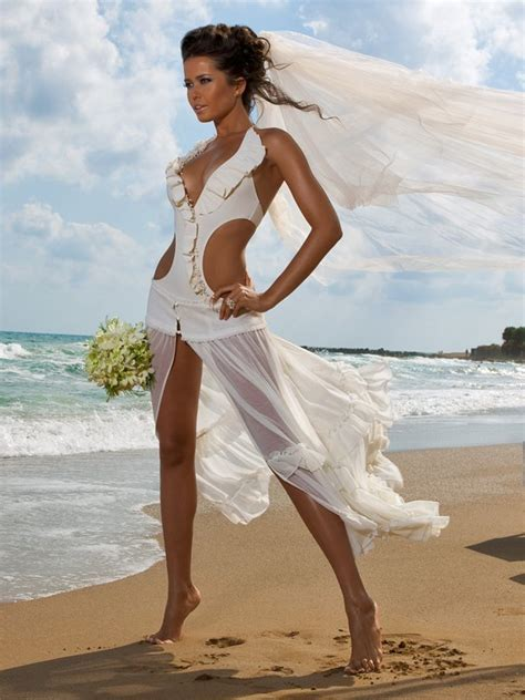 Casual Wedding Dresses Short White Bride Dress For Beach
