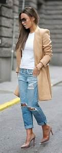 17 mejores ideas sobre Pantalones Rotos Mujer en Pinterest   Pantalones rotos de mujer Como ...
