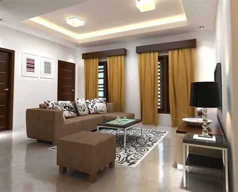 desain plafon ruang tamu cantik desain interior ruang