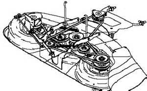Craftsman Lt1000 Deck Belt Routing by Craftsman 48 Quot Mower Deck Belt