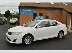 2014 Toyota Camry LE White Sedan Sale