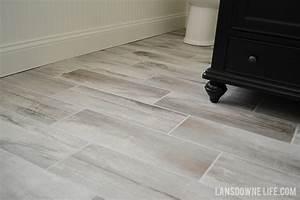Wood porcelain tile bathroom 28 images dakota ceramic for Gnn bathroom fans