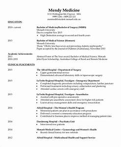 fresher doctor resume 3 free word pdf documents With cv format for doctors free download