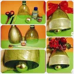 diy bell ornament from plastic bottle home diy