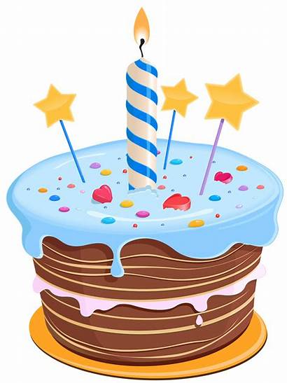 Birthday Clipart Cliparts Cake Clip Graphics Happy