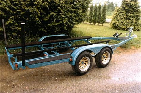 Boat Trailer Dual Axle by Boat Trailers