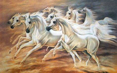 Seven Horse Wallpapers Group (53