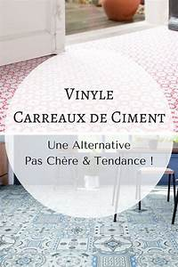 Carreaux De Ciment Pas Cher : vinyle carreaux de ciment une alternative d co pas ch re ~ Edinachiropracticcenter.com Idées de Décoration
